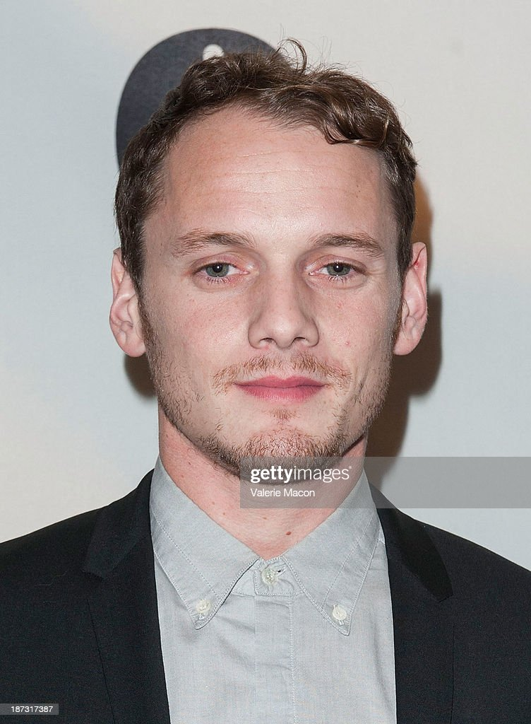 Actor Anton Yelchin attends The Academy Of Motion Picture Arts And Sciences' Hosts The Academy Nicholl Fellowships In Screenwriting Awards at AMPAS Samuel Goldwyn Theater on November 7, 2013 in Beverly Hills, California.