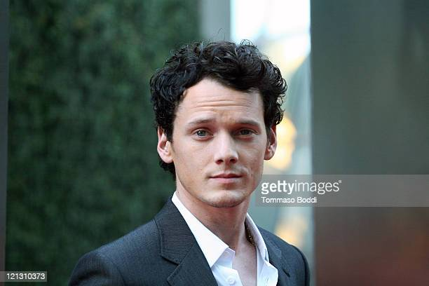 Actor Anton Yelchin attends the Fright Night screening held at the ArcLight theatre on August 17 2011 in Hollywood California