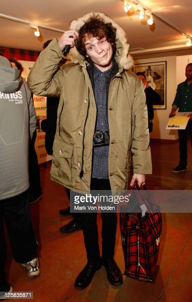Actor Anton Yelchin attends the Variety Studio at Sundance on January 23 2011 in Park City Utah