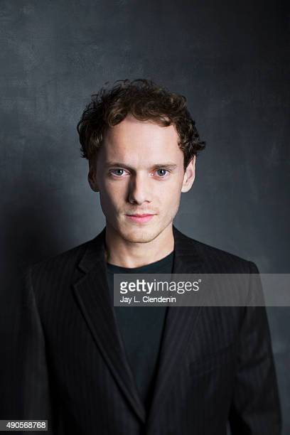 Actor Anton Yelchin from the movie 'Green Room' is photographed for Los Angeles Times on September 25 2015 in Toronto Ontario PUBLISHED IMAGE CREDIT...