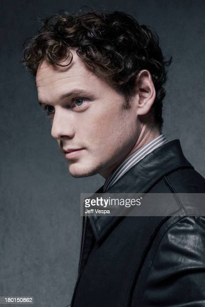 Actor Anton Yelchin is photographed at the Toronto Film Festival on September 6, 2013 in Toronto, Ontario.