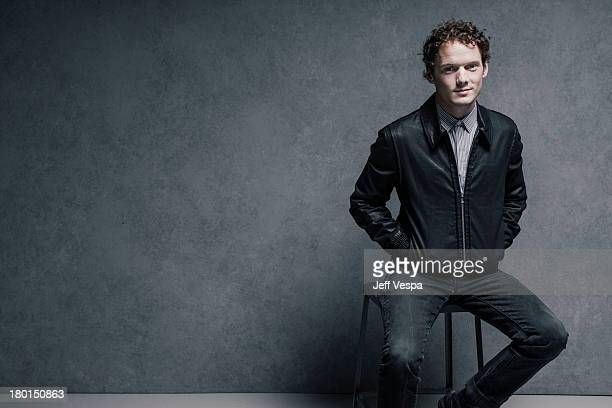 Actor Anton Yelchin is photographed at the Toronto Film Festival on September 6 2013 in Toronto Ontario