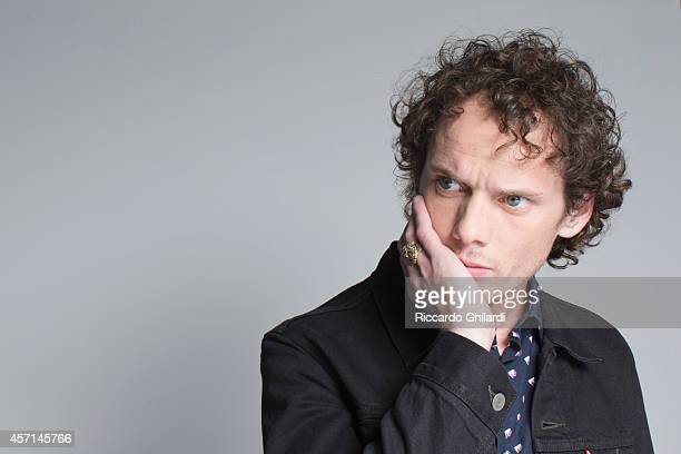 Actor Anton Yelchin is photographed for Gioia Magazine in Venice Italy