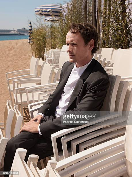 Actor Anton Yelchin is photographed for Vanity Faircom on May 15 2015 in Cannes France