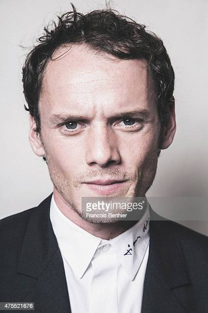 Actor Anton Yelchin is photographed on May 18, 2015 in Cannes, France.