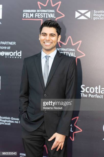 Actor Antonio Aakeel attends a photocall for the World Premiere of 'Eaten by Lions' during the 72nd Edinburgh International Film Festival at...