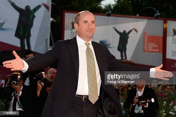 Actor Antonio Albanese attends 'L'Intrepido' Premiere during the 70th Venice International Film Festival at the Palazzo del Cinema on September 4,...