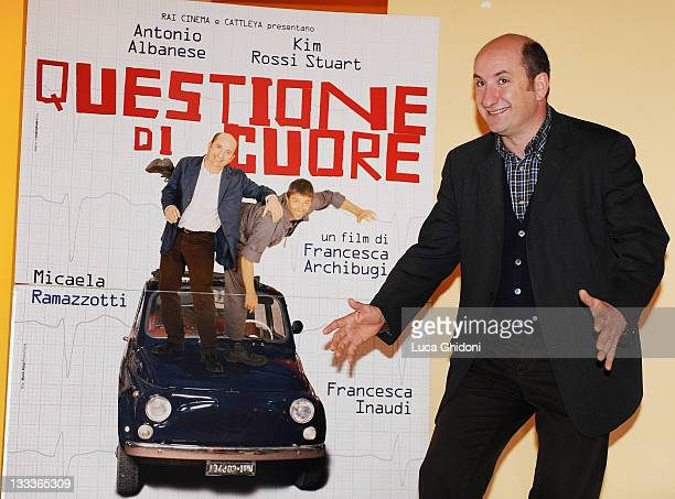 Actor Antonio Albanese attends the 'Questione Di Cuore' photocall at the Anteo Spazio Cinema on April 9, 2009 in Milan, Italy.
