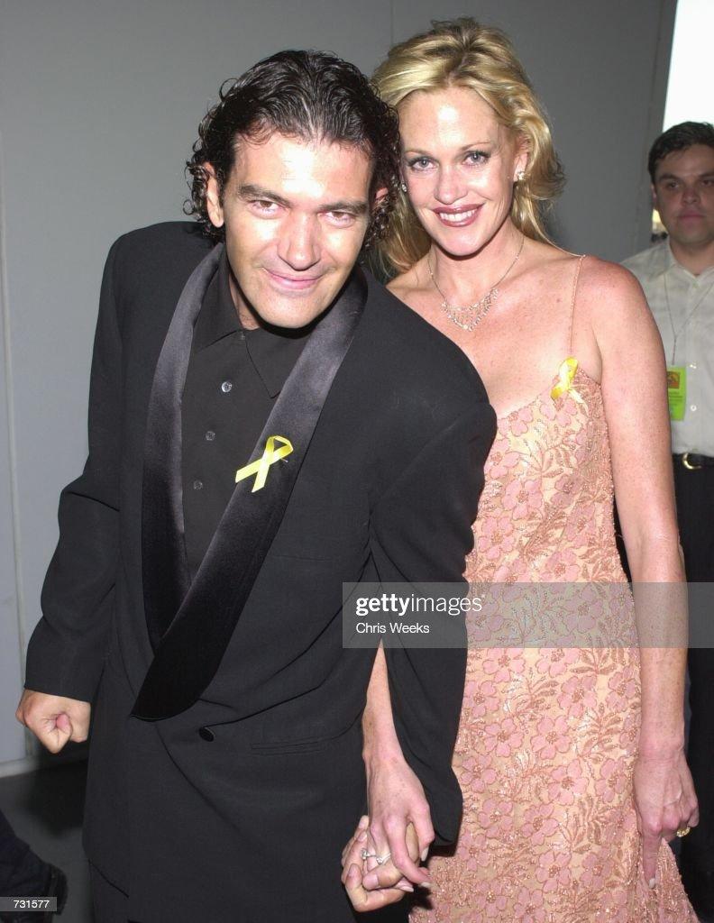 Actor Antonio Banderas and Melanie Griffith arrive at the ...  Actor Antonio B...