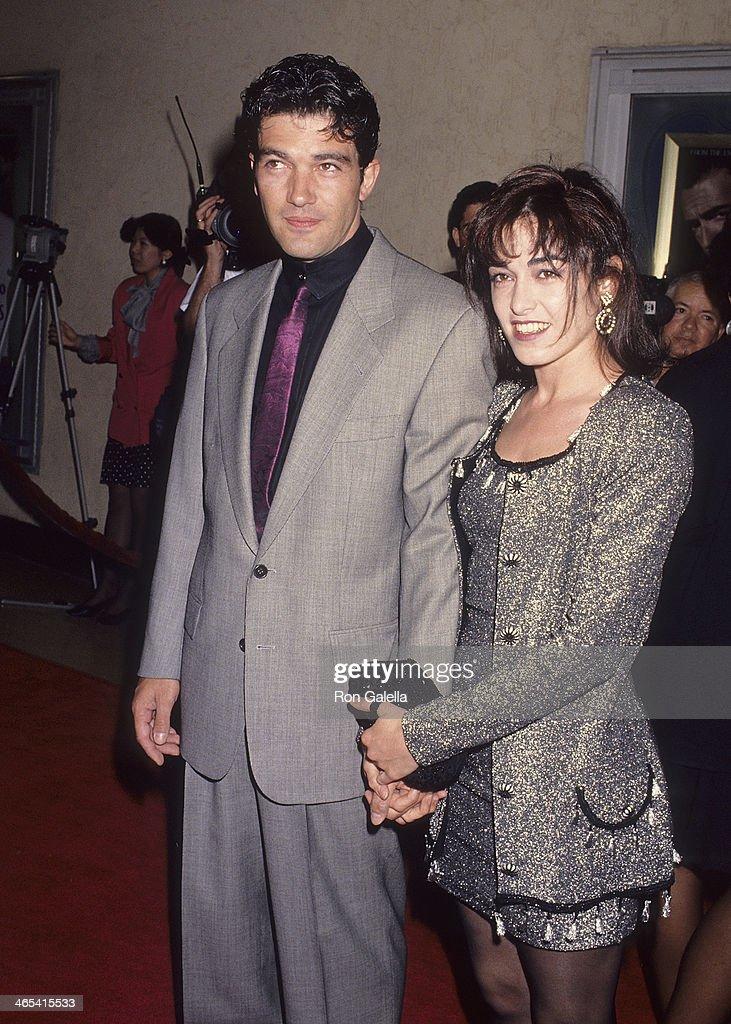 """The Mambo Kings"" Westwood Premiere : News Photo"