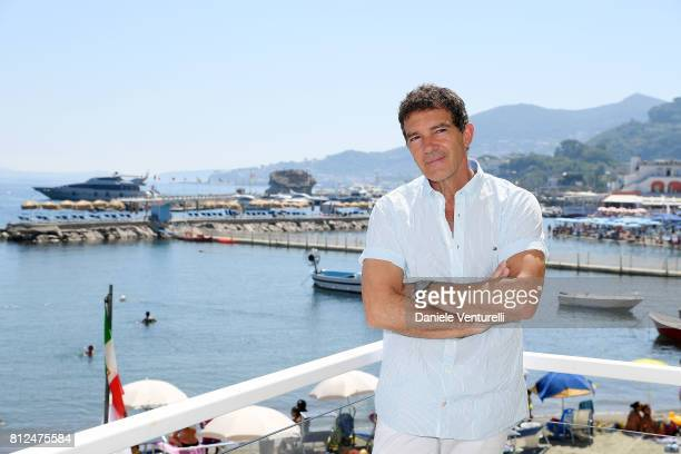 Actor Antonio Banderas attends 2017 Ischia Global Film Music Fest on July 11 2017 in Ischia Italy