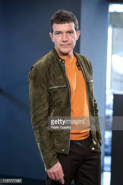 Actor Antonio Banderas attends Teatro del Soho Caixabank presentation on February 06 2019 in Madrid Spain