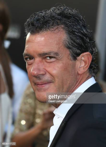 Actor Antonio Banderas attends the premiere of Lionsgate Films' 'The Expendables 3' at the TCL Chinese Theatre on August 11 2014 in Hollywood...