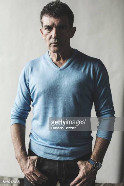 Actor Antonio Banderas is photographed on September 6 2017 in Deauville France