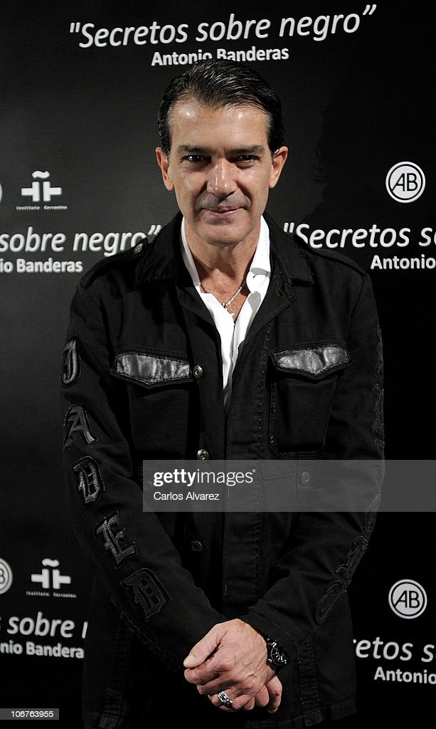 Antonio Banderas Launches His First Photography Exhibition In Madrid