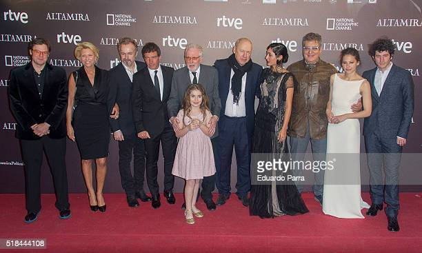 Actor Antonio Banderas musician Mark Knopfler actress Allegra Allen director Hugh Hudson actress Golshifteh Farahani actress Irene Escolar actor...