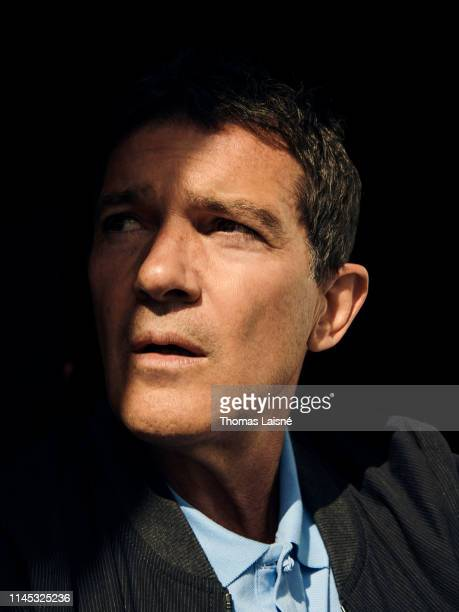 Actor Antonio Banderas poses for a portrait on May 15 2019 in Cannes France