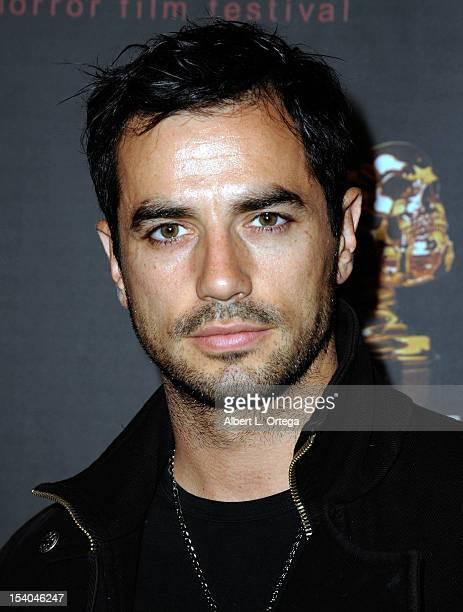 Actor Antonio Cupo arrives Screamfest 2012 Opening Night Gala held at Regal Cinemas LA Live on October 12 2012 in Los Angeles California