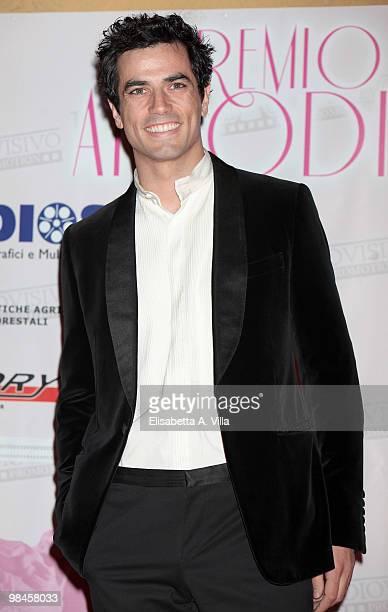 Actor Antonio Cupo attends the 2010 Premio Afrodite at the Studios on April 14 2010 in Rome Italy