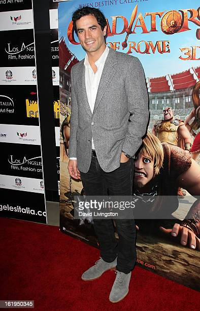 Actor Antonio Cupo attends the 8th Annual Los Angeles Italia Film Fashion and Art Festival Opening Night Gala at the Mann Chinese 6 on February 17...