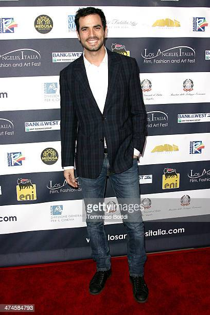Actor Antonio Cupo attends the 9th annual Los Angeles Italia Film Fashion and Art Fest opening night ceremony held at the TLC Chinese 6 Theatres on...