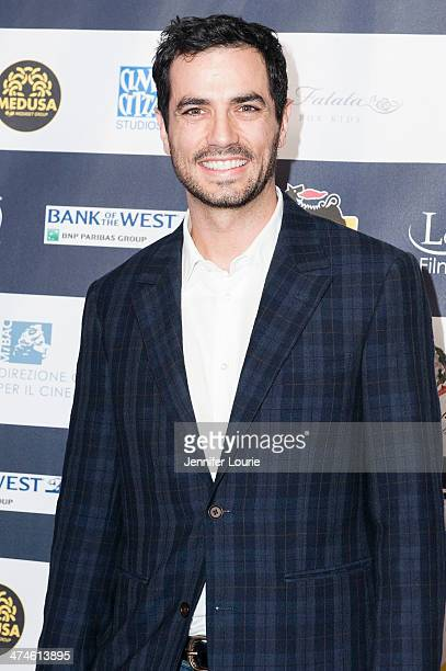 Actor Antonio Cupo attends the 9th annual Los Angeles Italia Film Fashion and Art Fest opening night ceremony held at TLC Chinese 6 Theatres on...