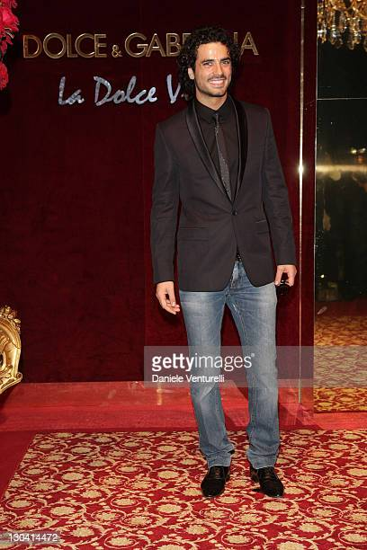 Actor Antonio Cupo attends the Dolce and Gabbana party at Baoli Port Canto during the 61st International Cannes Film Festival on May 23 2008 in...