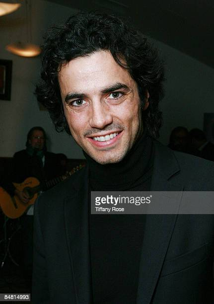 Actor Antonio Cupo poses at the 4th Los Angeles Italia Film Fashion and Art Fest at the Mann Chinese 6 Theaters on February 15 2009 in Hollywood...