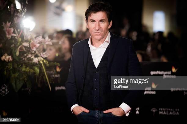 Actor Antonio de la Torre attends 'Casi 40' premiere during the 21th Malaga Film Festival at the Cervantes Theater on April 20 2018 in Malaga Spain