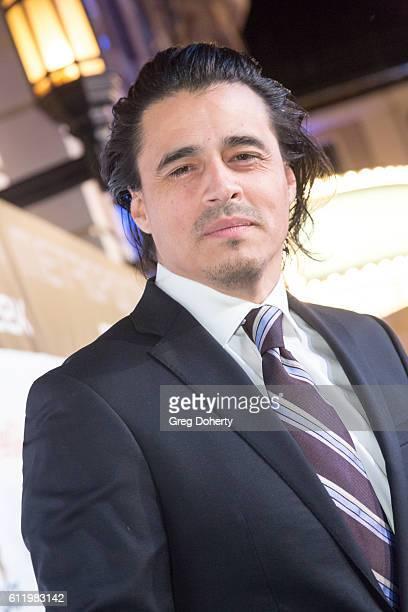 Actor Antonio Jaramillo arrives at the Metropolitan Fashion Week 2016 Closing Gala And Fashion Awards at Warner Bros Studios on October 1 2016 in...