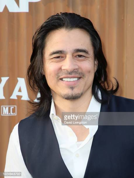Actor Antonio Jaramillo attends the premiere of FX's 'Mayans MC' at TCL Chinese Theatre on August 28 2018 in Hollywood California