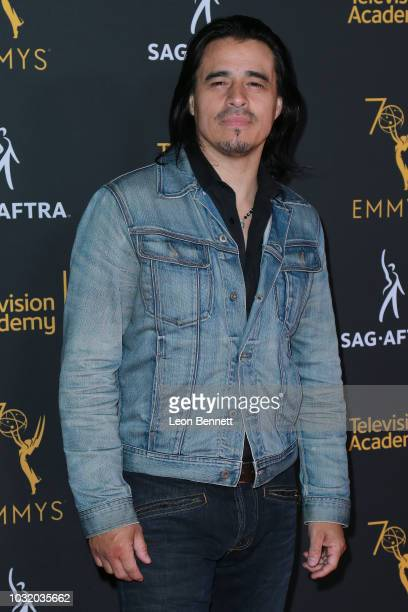 Actor Antonio Jaramillo attends the Television Academy And SAGAFTRA CoHost Dynamic Diverse Emmy Celebration at Saban Media Center on September 11...