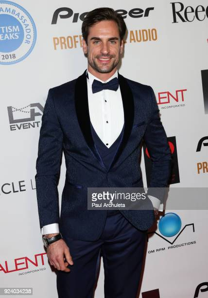 Actor Antonio Lujak attends the Gifting Your Spectrum gala benefiting Autism Speaks on February 24 2018 in Hollywood California