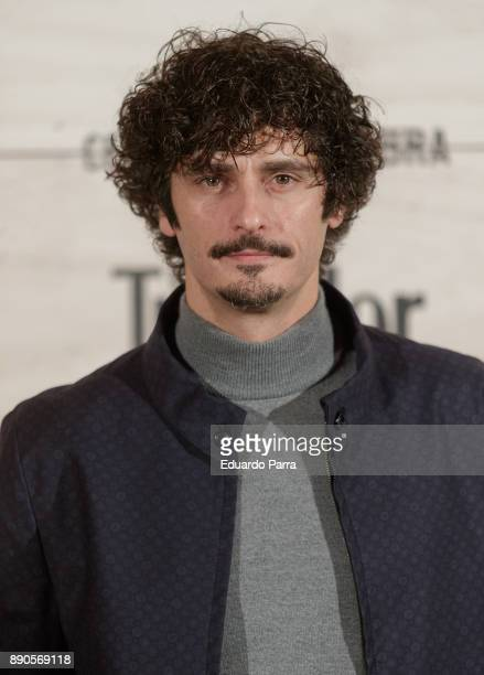 Actor Antonio Pagudo attends the 'Conde Nast Traveler Gastronomic and Wine Guide' photocall at Florida Retiro on December 11 2017 in Madrid Spain