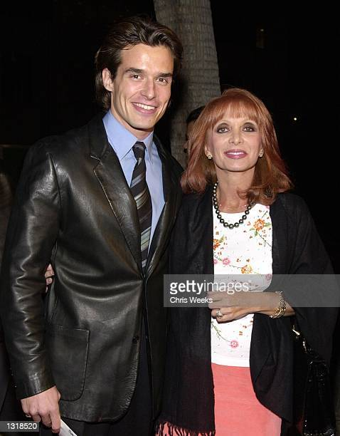 Actor Antonio Sabato Jr and his mother Yvonne arrive at the premiere of USA Films'' 'Traffic' December 14 2000 at the Academy of Motion Pictures Arts...