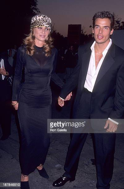 Actor Antonio Sabato Jr and sister Simmone Sabato attend Planet Hope Benefit Auction Hosted by InStyle Magazine on September 5 1996 at Smashbox...