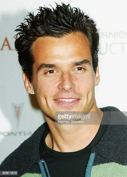Actor Antonio Sabato Jr arrives at Maxim Magazine's 'Hot 100 for 2005' at the Montmartre Lounge on May 12 2005 in Los Angeles California