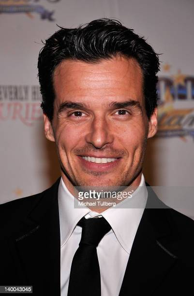 Actor Antonio Sabato Jr arrives at Norby Walters' 22nd Annual Night Of 100 Stars Viewing Gala at the Beverly Hills Hotel on February 26 2012 in...