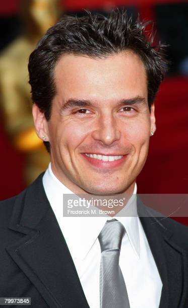 Actor Antonio Sabato Jr arrives at the 80th Annual Academy Awards held at the Kodak Theatre on February 24 2008 in Hollywood California