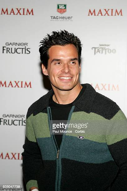 Actor Antonio Sabato Jr arrives at the celebrity party to celebrate the 2005 Maxim 'Hot 100' List