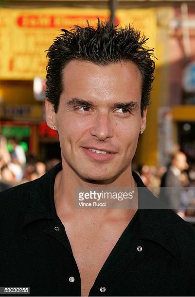 Actor Antonio Sabato Jr arrives at the premiere of 'Batman Begins' at Grauman's Chinese Theatre on June 06 2005 in Hollywood California