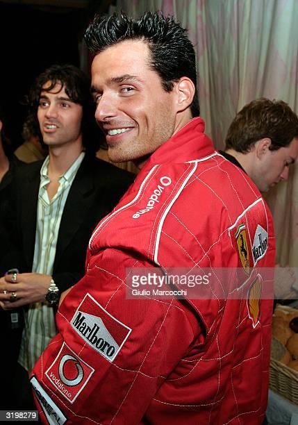 Actor Antonio Sabato Jr Attends Heatherette Holiday 2004 on April 1 2004 in Culver City California