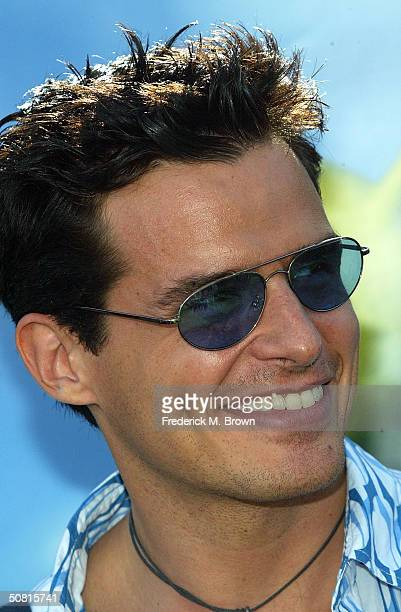 Actor Antonio Sabato Jr attends the Los Angeles premiere of the Dreamworks Pictures' film 'Shrek 2' at the Mann Village Theatre May 8 2004 in...