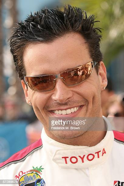 Actor Antonio Sabato Jr attends the Toyota Grand Prix of Long Beach Celebrity Race on April 8 2006 in Long Beach California
