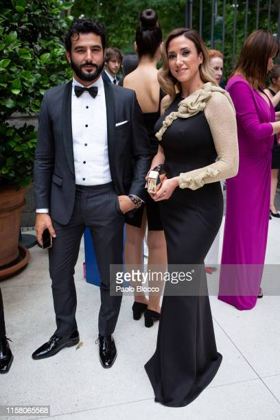 Actor Antonio Velazquez and Yohanna Alonso are seen arriving at 'Yo Dona' International Awards 2019 at ThyssenBornemisza Museum on June 24 2019 in...