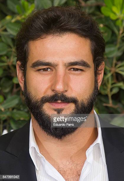 Actor Antonio Velazquez attends the National Geographic Channel 15th Anniversary photocall at the EEUU embassy on July 14 2016 in Madrid Spain
