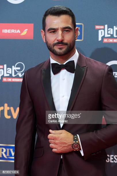 Actor Antonio Velazquez attends the Platino Awards 2017 photocall at the La Caja Magica on July 22 2017 in Madrid Spain