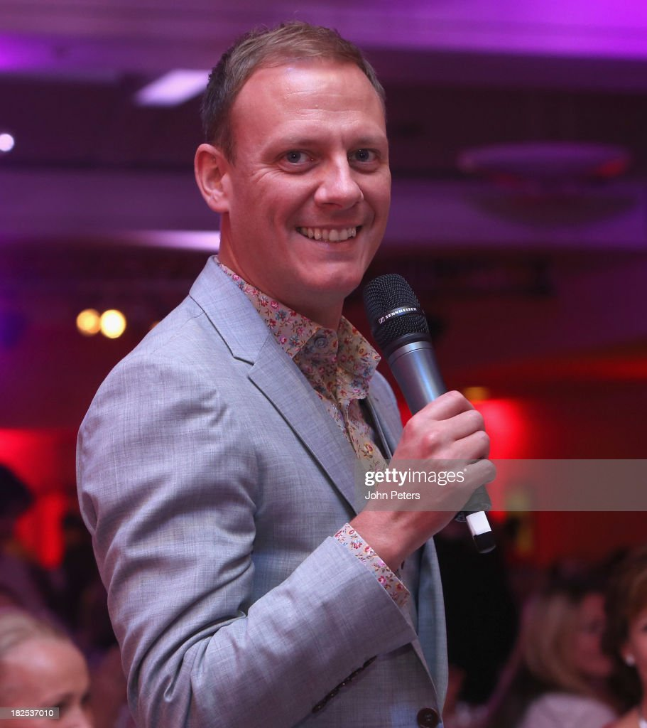 Actor Antony Cotton attends the Manchester United Foundation Ladies Lunch, raising money for The Christie Charity and Francis House Children's Hospice, at Old Trafford on September 30, 2013 in Manchester, England.