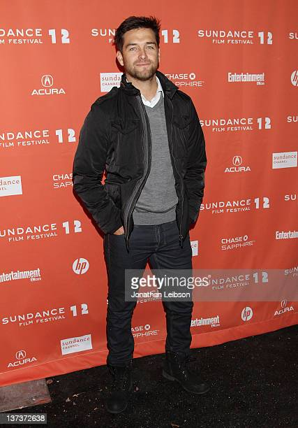 Actor Antony Starr arrives at the 'Wish You Were Here' premiere held at Library Center Theater during the 2012 Sundance Film Festival on January 19...