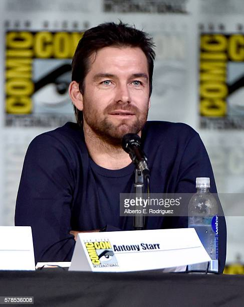 Actor Antony Starr attends CBS Television Studios Block Including Scorpion American Gothic And MacGyver during ComicCon International 2016 at San...